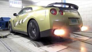 Download Nissan GT-R Switzer P800 - Dyno run with backfire! Video