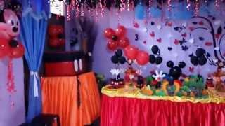 Download Fiesta Tematica La casa de Mickey Mouse Video