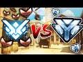 Download 4 DIAMOND PLAYERS VS 1 TOP 500 + 5 BRONZE PLAYERS - OVERWATCH CHALLENGE Video