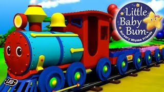 Download The Color Train Song! | Learn Colors with the LittleBabyBum Train! Video