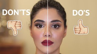 Download How to avoid make-up mistakes( हिन्दी में) । Do's and Don'ts| Roshni Bhatia Video