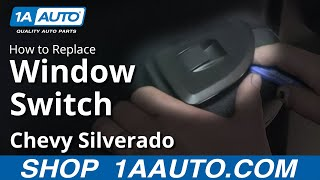 Download How To install Replace Rear Window Switch 2007-13 Chevy Silverado GMC Sierra Video