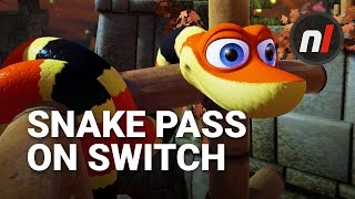 Download How Well Does Snake Pass Run on Nintendo Switch? | Snake Pass on Nintendo Switch Gameplay Video