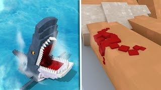 Download Minecraft | Portal To JAWS DIMENSION 2! - Killing The Real Jaws! (Killer Shark Attack) Video