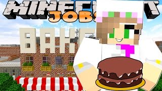 Download Minecraft Jobs-Little Kelly Adventures- WORKING IN A BAKERY! Video