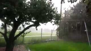 Download Microburst with insane rain in Salt Lake City Utah Video