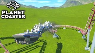 Download CUSTOM ROLLERCOASTER GONE WRONG - PLANET COASTER #2 Video