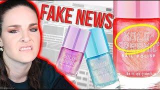 Download Is this ″Holographic nail polish″ FAKE NEWS? Sad! Video