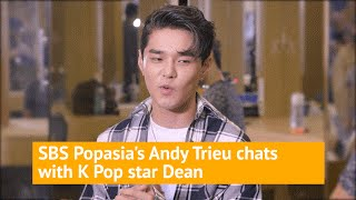 Download K-pop singer DEAN hanging backstage with Andy Trieu! Video