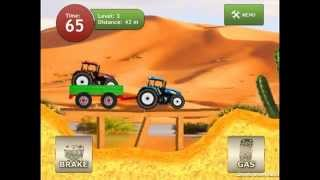 Download Unity3D 2D physics-based Android car game Tractor Racer HD Video