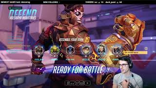 Download REEL | How to deal with toxic players. Life as a Doomfist Main | Overwatch [PS4] | Nico Video