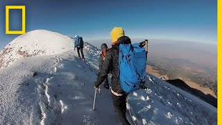 Download How Climbers Take on North America's Highest Volcano   National Geographic Video