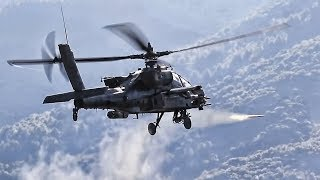 Download Apache Helicopters Fly Attack Cover For Greek Air Assault Video