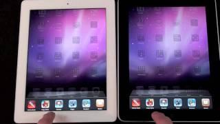 Download Apple iPad 1 vs iPad 2: Speed & Performance Comparison Video