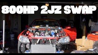 Download ″4 DOOR SUPRA″ SWAP: A 800hp 2JZ Build Video