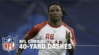 Download Top 5 Fastest 40-Yard Dashes (Pre-2017 John Ross 4.22) | NFL Scouting Combine Video