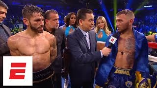 Download Vasiliy Lomachenko defeats Jorge Linares by knockout in the 10th round | ESPN Video