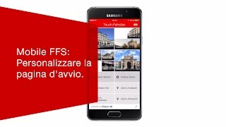 Download Mobile FFS: Personalizzare la pagina d'avvio. Video