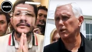 Download Mike Pence Ignores Pleading Immigrants (VIDEO) Video