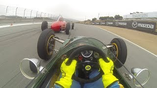 Download RACER: 1963 Lotus 27 FJ Race Visor Cam with Danny Baker Video