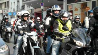 Download MANIFESTATION NATIONALE MOTO à REIMS, FRANCE le 24 mars 2012 Video