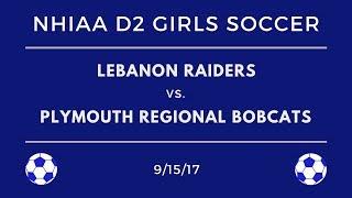 Download PRHS Bobcats Girls Soccer vs. Lebanon Raiders 9/15/17 Video
