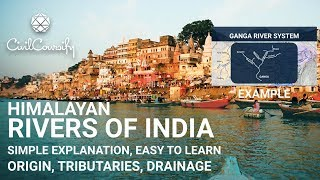 Download Himalayan Rivers of India | Easy to Learn | Geography by CivilCoursify Video