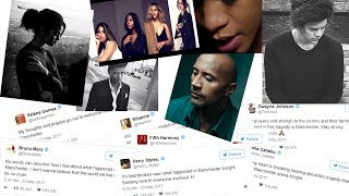 Download Celebrity Reactions to Ariana Grande Concert Terror Attack | Celeb Reacts to Explosion in Manchester Video
