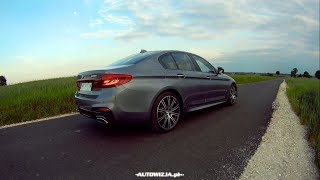 Download BMW 540i G30 sound, exhaust sound, revs, start up sound, launch control Video