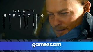 Download Death Stranding - FULL Gameplay Reveal with Kojima | Gamescom 2019 | Opening Night Live Video