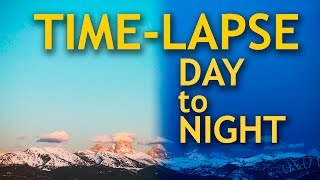 Download Time-lapse Photography Day to Night Video