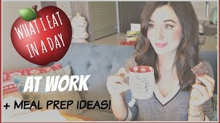 Download WHAT I EAT IN A DAY AT WORK + MEAL PREP Video