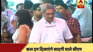 Download Goa: CM Manohar Parrikar's simplicity impresses everyone! Video