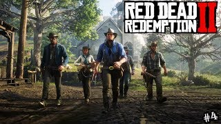 Download Red Dead Redemption 2 Part 4 - Free Roaming & Campaign Story - #RDR2 Walkthrough PS4 Pro Video