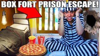 Download 24 HOUR BOX FORT PRISON ESCAPE!! 📦🚔 Video