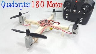 Download How to make a RC Quadcopter Using 180 motor Video