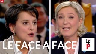 Download Face-à-face Marine Le Pen / Najat Vallaud-B. - L'Emission politique le 10 février 2017 (France 2) Video
