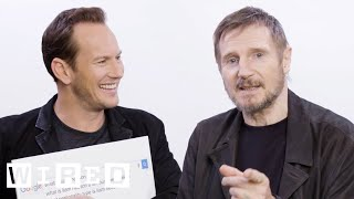 Download Liam Neeson & Patrick Wilson Answer the Web's Most Searched Questions | WIRED Video