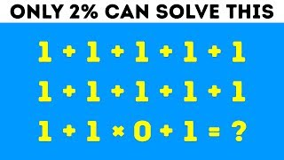 Download 9 Math Riddles That'll Stump Even Your Smartest Friends Video