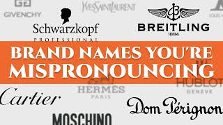 Download 52 Luxury Car, Watch & Fashion Brand Names You're Mispronouncing - German, French, Italian... Video