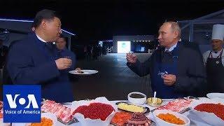 Download Putin and Xi make pancakes Video