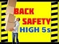 Download Back Safety - The High 5s - Prevent Accidents & Injuries - Back Safety training video Video