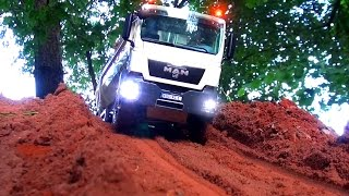 Download AWESOME RC TRUCK Moments! MAN! MB Arocs! Scania! ScaleART! Wedico! Tipper! Hook-lifter! Transport! Video
