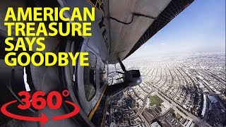 Download Hitch a ride on the Goodyear blimp in 360 Video