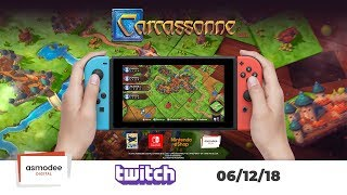 Download Carcassonne Switch Twitch Stream - 06/12/2018 Video
