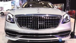 Download 2019 Mercedes Maybach S Class S650 Sedan - Exterior Interior Walkaround - 2018 New York Auto Show Video