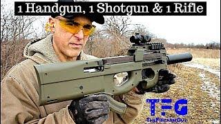 Download 1 Handgun, 1 Shotgun & 1 Rifle (Episode 6) - TheFireArmGuy Video