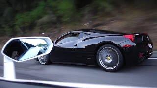 Download LAMBORGHINI AVENTADOR VS FERRARI 458! (STREET RACING!) Video