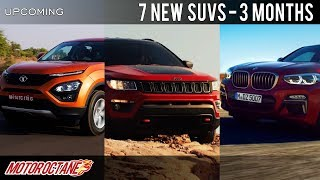 Download 7 New SUVs Coming in 3 months | Hindi | MotorOctane Video