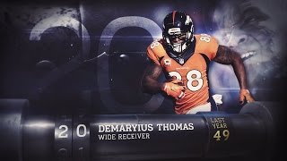 Download #20 Demaryius Thomas ( WR, Broncos) | Top 100 Players of 2015 Video